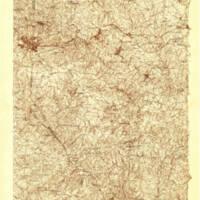 1935 USGS topographic map