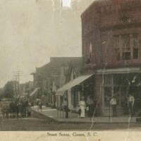 p17168coll15_50_large_Trade_1909_Ponder's General Merchandise Store on corner.jpg